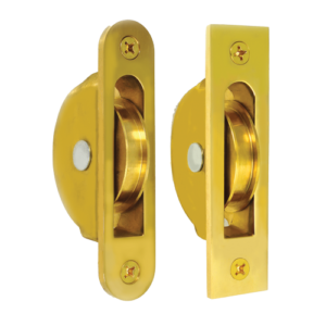 Solid Brass Sash Pulleys
