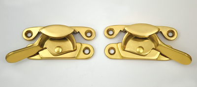 Solid Brass Left and Right Sweep Locks