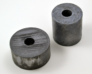 Round lead weights
