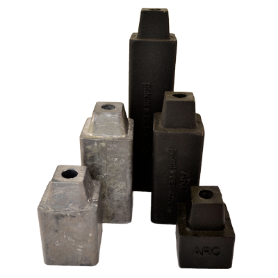 Lead and Iron Stackable Weights